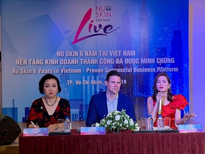 Nu Skin nổi tiếng về sản phẩm chống lão hóa – tăng trưởng kỷ lục sau 6 năm hoạt động tại Việt Nam.