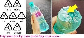 Cách nhận biết các loại Nhựa trên vật dụng thông qua ký hiệu