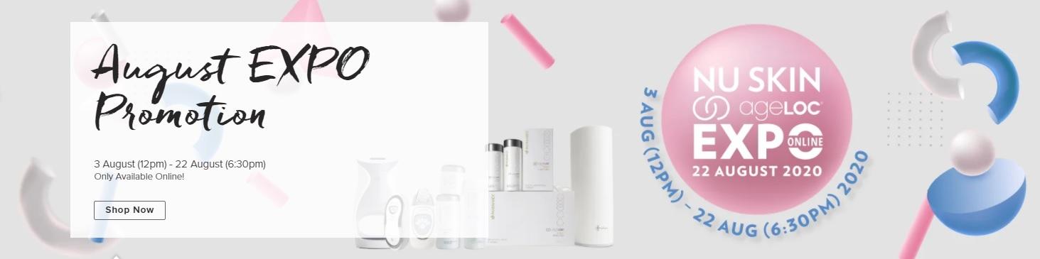 Khuyến mãi Nu Skin 10/2020 – Singapore