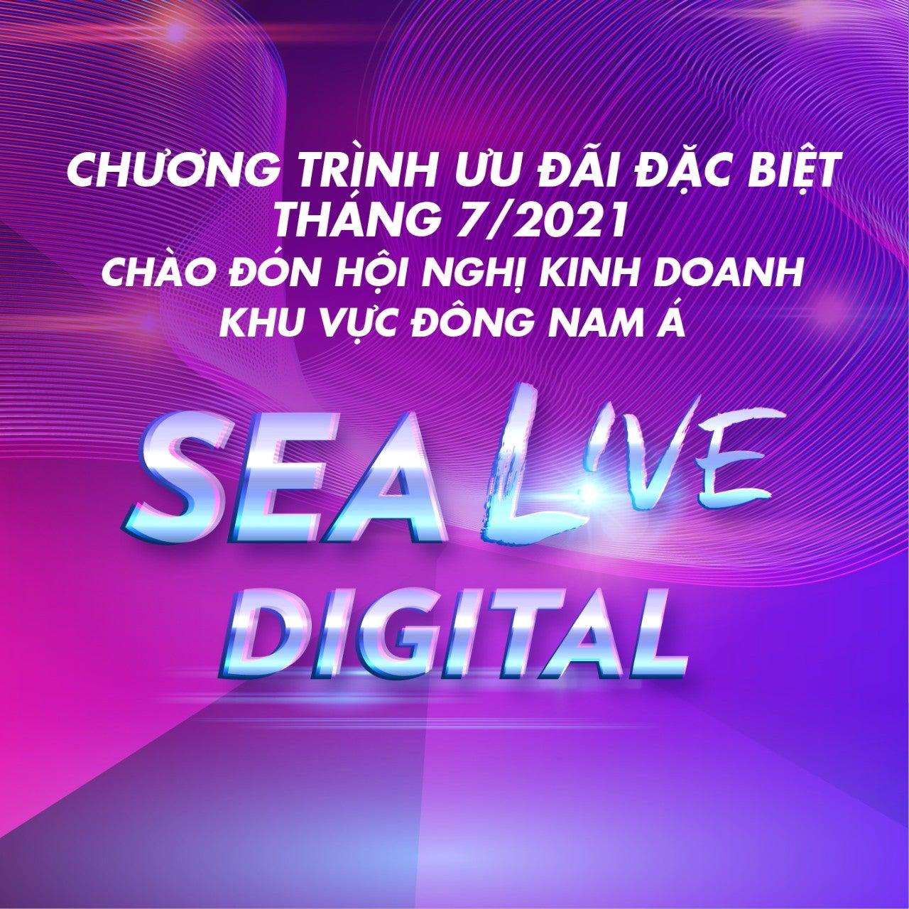 Ưu đãi đặc biệt SEA LIVE tháng 7/2021 – Singapore, Malaysia, Vietnam